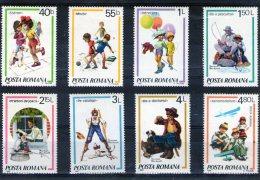 1981 -  Jeux D Enfantes Mi 3829/3836 Et Yv 3356/3362 + P.A. 275 MNH - 1948-.... Republiken