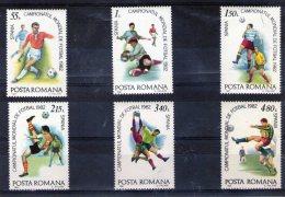 1981 COUPE DE FOOTBALL ESPANA 82 Mi 3837/3842 Et Yv 3363/3368 MNH - Ungebraucht