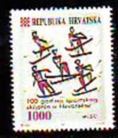 Croatia 1993 Y Sport Skiing Mi No 263 MNH - Kroatië
