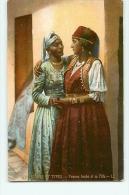 Femme Arabe Et Sa Fille. Scènes Et Types. 2 Scans. Edition LL - Algeria