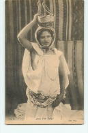 Jeune Fille Kabyle. 2 Scans. Edition ND - Women