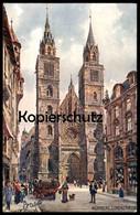 ALTE POSTKARTE OILETTE RAPHAEL TUCK POSTCARD DEUTSCHE STÄDTE SERIE 1 Nürnberg No.611B KÜNSTLER CHARLES F. FLOWER - Tuck, Raphael