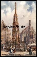 ALTE POSTKARTE OILETTE RAPHAEL TUCK POSTCARD DEUTSCHE STÄDTE SERIE 1 Nürnberg No.611E KÜNSTLER CHARLES F. FLOWER - Tuck, Raphael