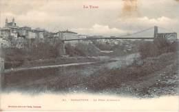 81 - Rabastens - Le Pont Suspendu - Rabastens