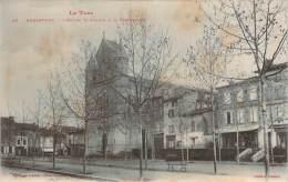 81 - Rabastens - L'Eglise St-Pierre & La Promenade - Rabastens