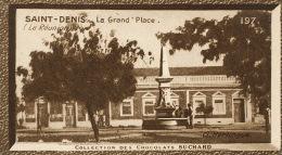 St Denis La Grand Place Cliché Harlingue Ce N Est Pas Une CPA - Suchard