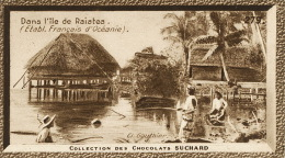 Dans L Ile De Raiatea Village D Averati No 279 Cliché  Gauthier  Ce N Est Pas Une CPA - Suchard