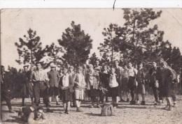 CHIAVARI-GENOVA  - GRUPPO DI PERSONE VG 1932 X SAVONA AUTENTICA 100% - Genova