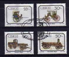 Ciskei - 1989 - Animal Drawn Transport - Used - Ciskei
