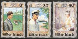 Gilbert Islands 1977  Silver Jubilee Coronation Queen Elisabeth - Complete - MNH**, Postfrisch Ohne Falz , Neuf Sans Cha - Îles Gilbert Et Ellice (...-1979)