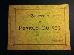22 - PERROS-GUIREC - Livret De 15 Planches - Perros-Guirec - Ploumanach - Lieux