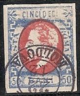 RUMANIA 1872 - Yvert #32 - VFU - 1858-1880 Moldavia & Principado