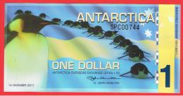 ANTARTIDA - ANTARCTICA - 1 Dolar 2011 SC  -  Penguins - Pinguinos - Andere