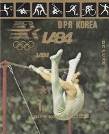 Korea 1983 Los Angeles Olympic Games, Gymnast, Souvenir Sheet  MNH - Summer 1984: Los Angeles