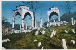 Turkischer Friedhof  Muslim Cemetery Edit Albert Thier Sarajevo 1911 No 5184 - Bosnie-Herzegovine