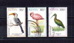 Kenia   1993  .-   Y&T  Nº   569/571 - Kenia (1963-...)