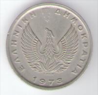 GRECIA 5 DRACMAI 1973 - Grecia