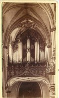 PHOTOGRAPHIE CDV 1870 :  FRIBOURG LES ORGUES EGLISE SUISSE - Anciennes (Av. 1900)