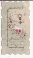 IMAGE PIEUSE CELLULOIDE ET PEINTE  1910 - Images Religieuses