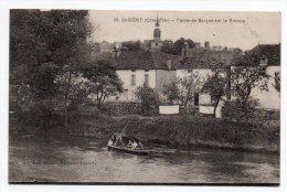 Cpa 21 - Saint-Rémy (Côte D'Or) - Partie De Barque Sur La Brenne - Frankreich
