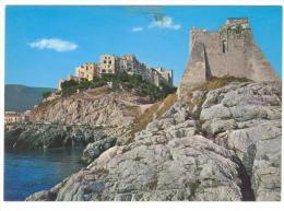 B3304 Sperlonga (Latina) - Torre Truglia Vista Dal Mare / Viaggiata 1989 - Italia