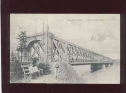 67 Strasbourg Neue Rheinbrücke Strassburg Kehl  édit. J.A. Deppisch N° 512 Animée - Strasbourg