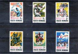 1982 - 60 Anniv. De L Union Communistes Mi 3858+3867/3871 Et Yv 3382/3387 MNH - 1948-.... Republiken