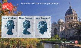 New Zealand 2013 Australia World Stamp Exhibition Minisheet MNH - New Zealand
