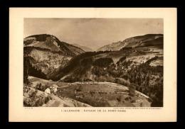 ALLEMAGNE - Planche - Paysage De La FORET-NOIRE - Vieux Papiers