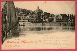 METKOVIC - Pozdrav Iz Metkovića ( Croatia ) * Travelled 1899. * A. Nikolac , Vlastnik - Croatia