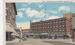 Wisconsin Kenosha Main And South Streets