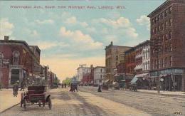 Michigan Lansing Washington Avenue Looking South