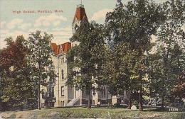 Michigan Pontiac High School 1923