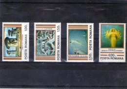 1982  ART. OEUVRES DE SABIN BALASA  Mi 3892/3895 Et Yv 3400/3403 MNH - Ungebraucht