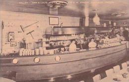 Oregon Portland Dan &amp  Louis Oyster Bar Galley