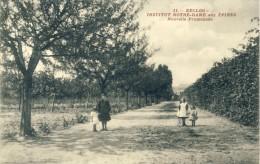 Eeklo - Institut Notre-Dame Aux Epines - Nouvelle Promenade  -1910 ( Verso Zien ) - Eeklo