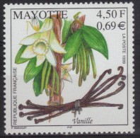 Mayotte N° 78 Neuf ** - Flore - Vanille - Mayote (1892-2011)