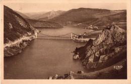 CPA 1933,,le Nouveau Pont De TREBOUL, Sur La Truyère (s4.22) - France