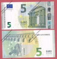 Italia 2013 Nuova Banconota 5 EURO -S002B6- Emessa 2 Maggio 2013 Mario Draghi Nuova** Integra Mai Circolata - EURO