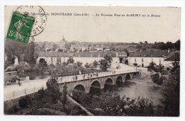 Cpa 21 - Environs De Montbard - Le Nouveau Pont De Saint-Rémy Sur La Brenne (Côte D'Or) - Frankreich
