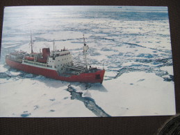 2-2310 CPM RRS John Biscoe South Georgia Antarctic Péninsula Glace B A S No TAAF Antarctica Antarctique Pole Sud - Territorio Antártico Británico  (BAT)
