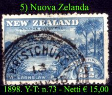 Nuova-Zelanda-0005 - Used Stamps