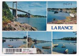 Entre Dinard Et Dinan - La Rance (Multivue - Port St Jean - La Ville ès Nonais - Pas Circulé, Carte Annulée Chez Combier - France