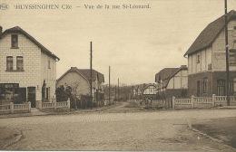 Huizingen - Cité - Vue De La Rue St-Léonard ( Verso Zien ) - Beersel