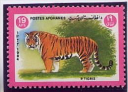 AFGHANISTAN  -  TIGRE - Big Cats (cats Of Prey)