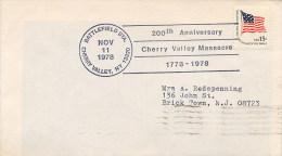 USA   -  Il Massacro Di Cherry Valley è Stato Un Attacco Da Parte Di Inglesi E Irochesi Forze Su Un Forte E Il Villaggio - Indianen