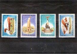 1982 - 100 Anniv. AUREL VLAICU  Mi  3892/3895 Et Yv 283/286 MNH - 1948-.... Republiken