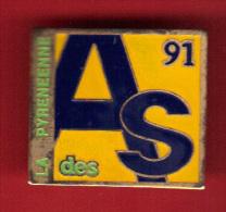 28623-pin's  Cyclisme.AS La Pyrénéenne Des Alpes. - Cyclisme