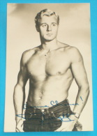 A OLD ACTOR - Tony ...  * HAND SIGNED PHOTO * ORIGINAL 100% AUTOGRAPH * Erotic Gay Sexy Man - Autographs