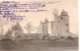 15 Environs D'Aurillac Chateau De Carbonnat Remonte Au XII Siecle Carte Precurseur - Aurillac